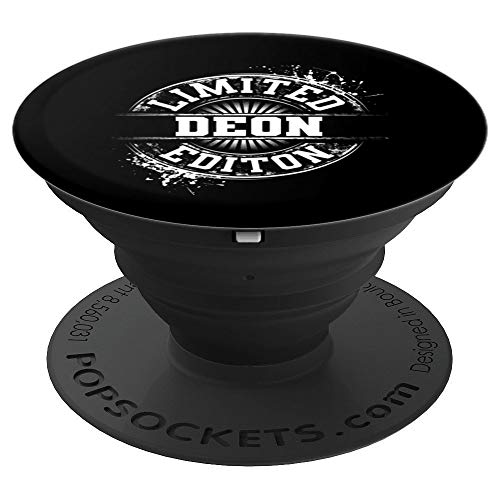 DEON Limited Edition Funny Personalized Name Joke Gift PopSockets Grip and Stand for Phones and Tablets