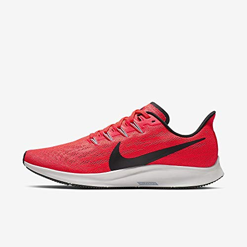 Nike Men's Air Zoom Pegasus 36 Running Shoes (14 D US, Bright Crimson/Black/Vast Grey)