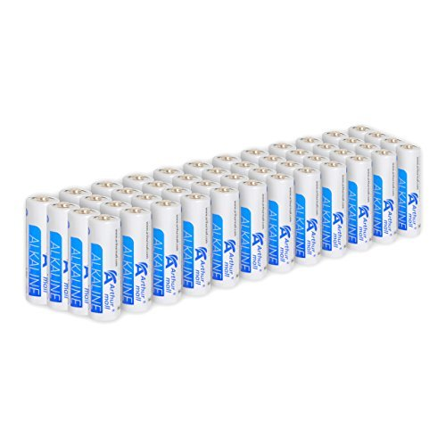 Arthur Mall AA Performance Alkaline Batteries (48-Pack)