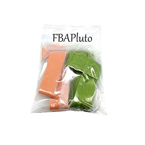 FBAPuto 2Pcs Cinch Yoga Mat Slings-Yoga Mat Strap -Yoga Carrying Sling (Green+Orange)