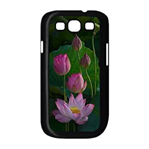VNCASE Water Lily Phone Case For Samsung Galaxy S3 i9300 [Pattern-1]