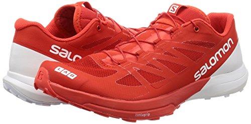 Sense Sentier Salomon Red Course White Lab S Rouge Sur racing De Chaussures 6 000 Unisexe wzcztAWqg