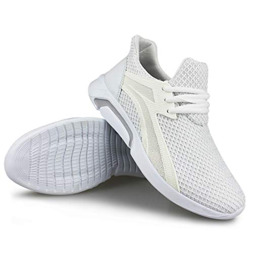 1952 Women's Sport Walking Knit Weight Workout white Light Hawkwell Sneakers 8qTtad8
