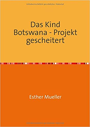 Book Das Kind Botswana