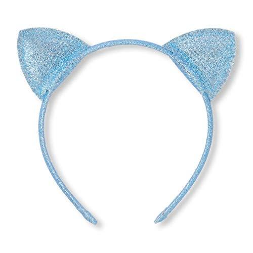 Toddler Girls Glitter Cat Ears Headband ()