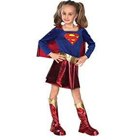 - 41s908J9O8L - Deluxe Supergirl Costume – Large