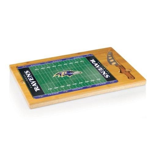 NFL Baltimore Ravens 3-Piece Icon Cheese Set (Cheese Board Baltimore Ravens)
