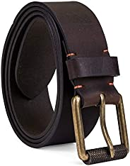 Timberland mens 40mm Workwear Leather Belt Belt