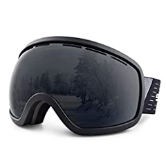 Description:All Snowledge Ski Goggles satisfy ANSI test standard and CE certification. We especially clad an anti-fog layer on the surface of the inner lens of the polarized ski goggles, so as to reduce fog and maintain glass cleanness. Howev...