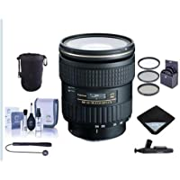 Tokina 24-70mm F/2.8 AT-X Pro FX Lens for Canon EOS Digital SLR Cameras - Bundle with 82mm Filter Kit, Lens Pouch, Cleaning Kit, LensPen Lens Cleaner, Capleash, Software Package