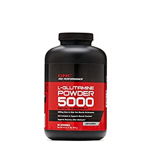 GNC Pro Performance L Glutamine Powder Unflavored