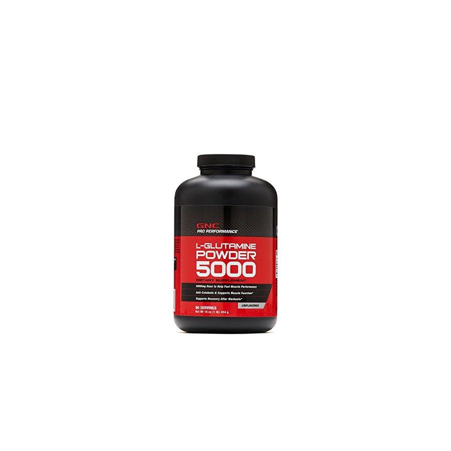 GNC Pro Performance L Glutamine Powder Unflavored