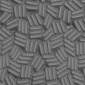 Basketweave Earrings Jewelry - Cool Tools - Flexible Texture Tile - Crosshatch - 4