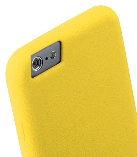 "Melkco Silikonovy Case (Special Edition) für Apple iPhone 6 / 6s Plus (5.5 "") - Gelb"