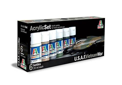 イタレリu.s.a.f. Vietnam イタレリu.s.a.f. 6 War acrylic paints 6 bottles bottles perセット B00MLDK6RG, 高松市:e09ae3ed --- ijpba.info