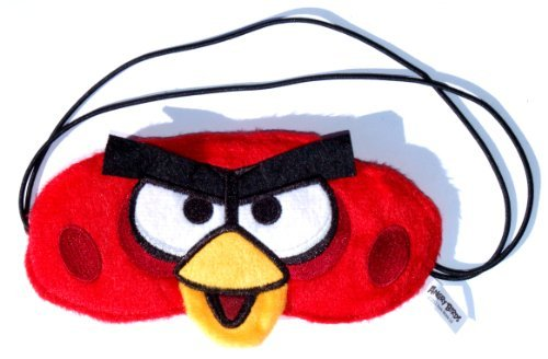 Angry Birds Red Bird Exclusive Plush Sleep Mask / Officially Licensed By Rovio