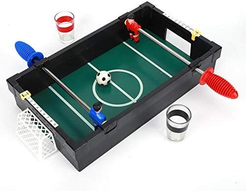 Keenso Table Soccer Toy Desktop, de Juego de futbolín clásico Mini Table Top de Madera, Juego de futbolín de Mesa para Personas Dobles Mini Toy de fútbol de Escritorio Juegos interactivos: Amazon.es: