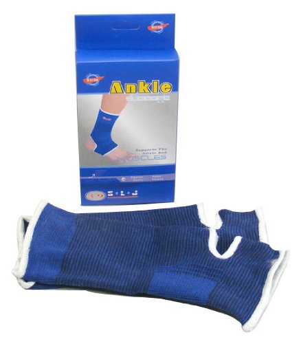 Qs Sports Goods 2 Piece Ankle Supports Provides Maximum Support
