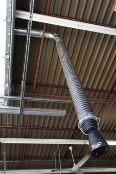 Garage Exhaust Tubing (LightScope Garage Exhaust Telescoping System)