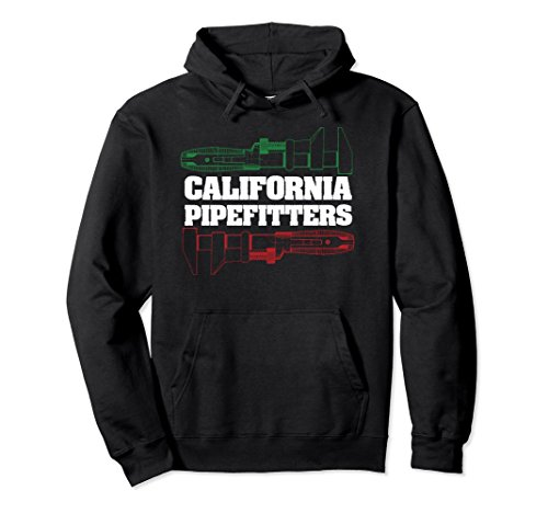Unisex Proud California Pipefitter Plumbing Pullover Hoodie XL: - Clothing Union Francisco San
