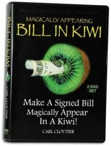 Bill in Kiwi with Carl Cloutier 2 DVD Set - Magic Tricks by Magic Makers
