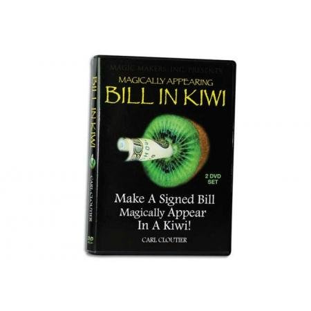 (Bill in Kiwi with Carl Cloutier 2 DVD Set - Magic Tricks by Magic Makers)