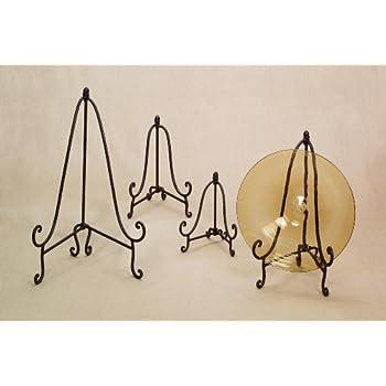 Amazon Com Baldwin Folding Metal Easel Plate Stand Art