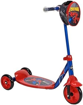 Amazon.com: Huffy Spider Sense Spider-Man 3 Rueda Scooter ...