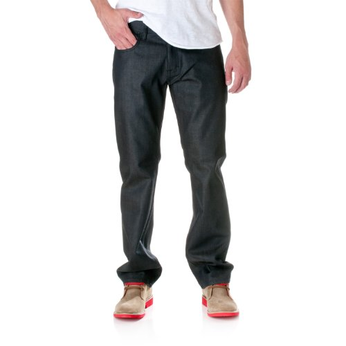 JORDAN CRAIG Men's Legacy Slim Fit Jeans, Blue, 34X30 by Jordan Craig