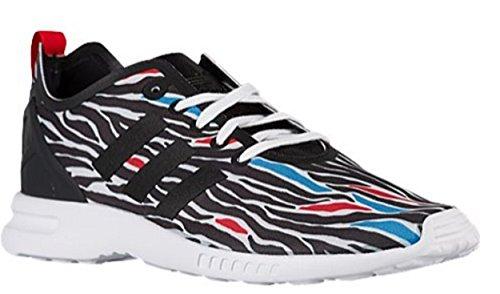 Femme Pour Adidas De Chaussures Zx Smooth Zebra Flux Course BwaCUFYqa