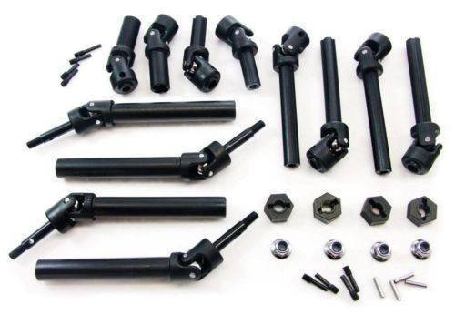 Traxxas T-Maxx 2.5 Classic * FRONT CENTER REAR DRIVE SHAFTS & WHEEL NUTS & HUBS