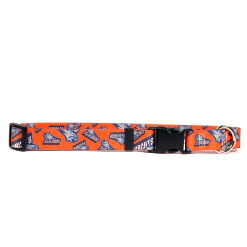 Yellow Dog Design Charlotte Bobcats 18-Feet to 28-Feet Collar, Large
