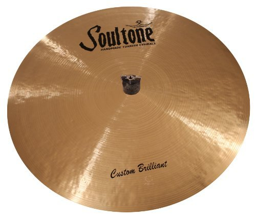 Soultone Cymbals CBR-FLRID19-19 Custom Brilliant Flat Ride [並行輸入品]   B07MP54S7T