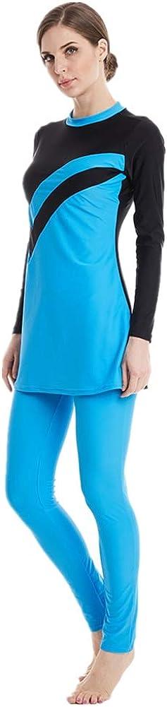 Modest Muslim Swimwear Costumi Da Bagno Musulmani Per Le Signore Swimsuits Islamici Modesti Completi Hijab Burkini Nuoto Abbigliamento Sportivo Mare E Piscina Costumi Interi