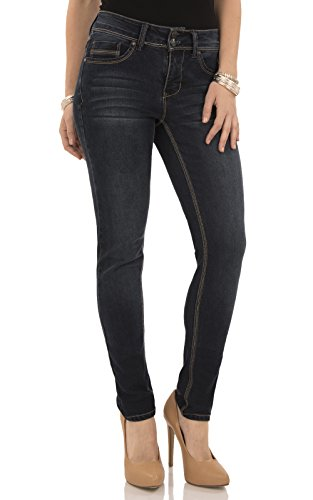 Angels Jeans Women's Curvy Skinny Jean-abm00529s, Victoria, (Angels Stretch Denim)