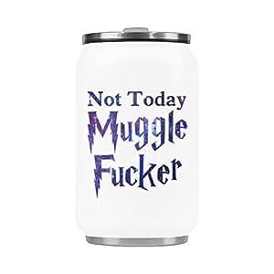 Amazon.com: No Hoy Muggle Fucker café taza de viaje regalo ...