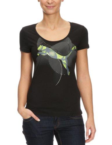 Puma Shine Cat T-shirt pour femme Noir noir m