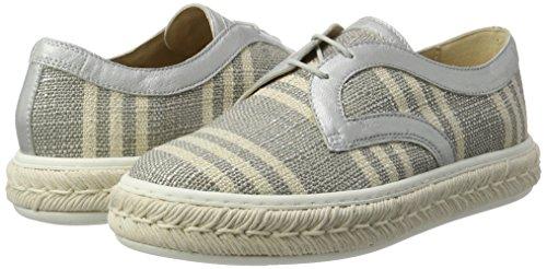 Peperosa Zapatos Para Gris Cordones lunar Mujer De Grigio 334 Derby rgqf5Trw