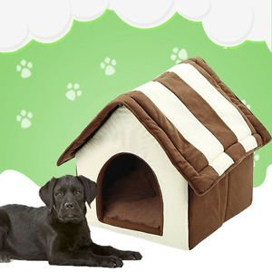 Brand New Indoor Cute Dog House Bed Pet Soft Warm Cushion Pad Washable Cat Cozy Home New