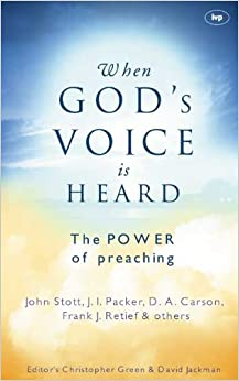 Book When God's voice is heard: The Power of Preaching