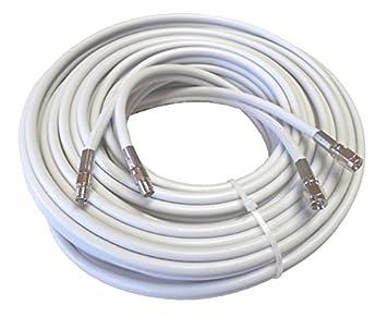 10 M alta calidad Low Loss Twin de cable coaxial de antena como Cable de extensión