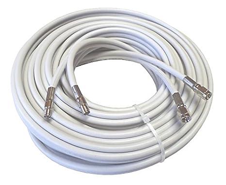 10 M alta calidad Low Loss Twin de cable coaxial de antena como ...