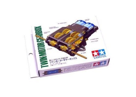 - RCECHO? Tamiya Dynamic Model Educational Twin-Motor (Two Motor) Gearbox 70097 with RCECHO? Full Version Apps Edition