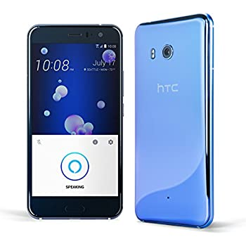 HTC U11 with hands-free Amazon Alexa – Factory Unlocked –Amazing Silver –128GB