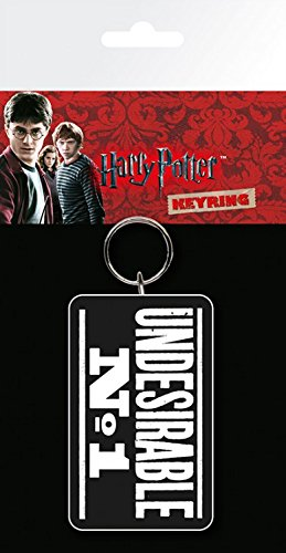 Harry Potter Keychain Keyring For Fans - Undesirable No.1 (6 x 3 - Ralph Online Outlet