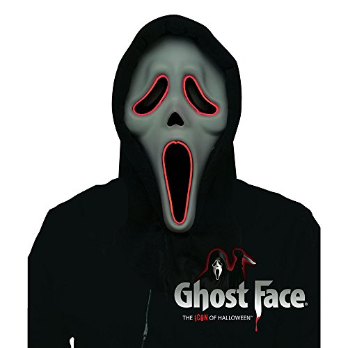 Fun World Adult Scream Illumo Ghostface Costume Mask -