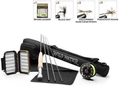 Wild Water Fly Fishing Complete 3/4 (7' Rod) Starter Package