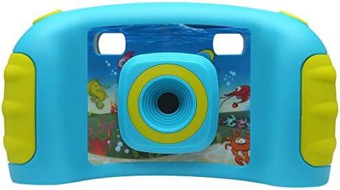 Tichan 子供の創造的なカメラ 1.77 インチ ゲームのデジタルカメラ HD 動きカメラ 子供のパズルゲームカメラ 子供カメラ アクションカメラ モーションカメラ (青)