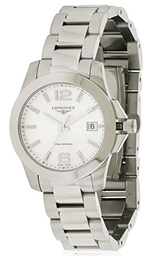 Longines Conquest Stainless Steel Chronograph Ladies Watch L33774766