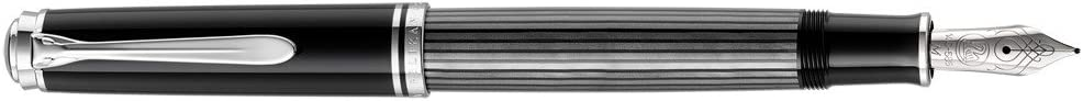 Pelikan Fine-Writing Souver/än Stresemann M405 803762 Piston Fountain Pen in Folding Box Spring EF colour